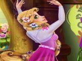Rapunzel balé escondido