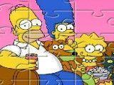 Puzzle família Simpsons