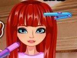 Menina cortes de cabelo