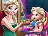 Elsa Frozen mamãe