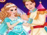 Roupas da princesa no baile