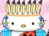 Hello Kitty roupas tribal