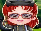 Bebê Hazel profissão policial