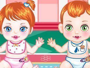 Babá de gêmeos