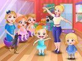Bailarina bebê Hazel