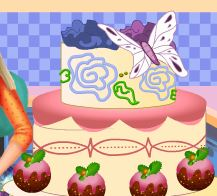 Barbie decorar bolo