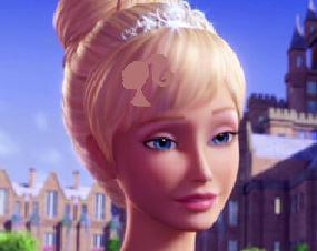 Barbie e a porta secreta achar símbolos