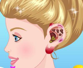 Barbie fazer cirurgia da orelha