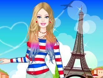Barbie moda em Paris