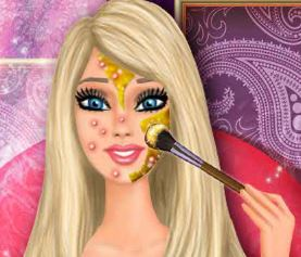 Barbie spa e cabeleireiro