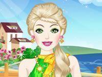 Barbie unhas e moda