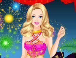 Barbie vestidos de festa