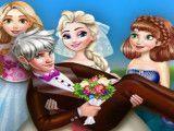Casamento da Elsa vestir