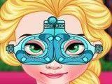 Elsa cuidar dos olhos