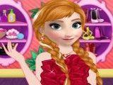 Maquiar e vestir Anna Frozen