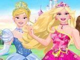 Vestir e maquiar princesa da Disney