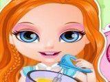 Receita de bolo e cupcakes da bebê Barbie
