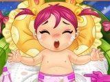 Cuidar da bebê e trocar fraldas