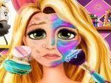Rapunzel  tratamento facial no spa