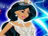 Jasmine e Ariel no baile