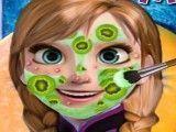 Anna Frozen tratamento facial