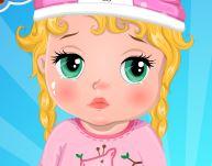 Bebê com febre cuidar