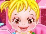 Bebê cuidar e trocar fraldas