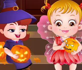 Bebê no Halloween