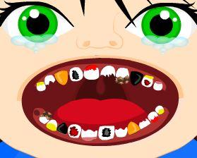 Bebê punk no dentista
