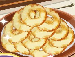 Beignets de maçã: receita da Sara