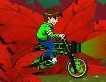 ben 10 aventuras de bike