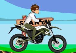 Ben 10 motocross