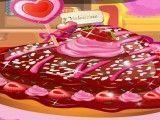 Dora preparar receita de bolo