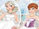 Casamento irmãs Frozen