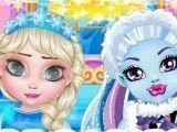 Abbey e Elsa bebês