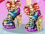 Sapatos de salto decorar