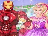 Super Barbie casamento com herói