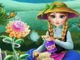 Plantar flor da Anna Frozen