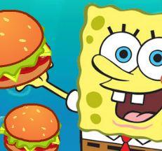 Bob Esponja canhão de hambúrguer