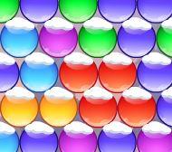 Bolas de natal colorida