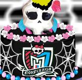Bolo da Monster High decorado