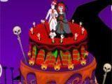 Bolo de casamento dia das bruxas
