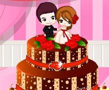 Bolo decoração para casamento