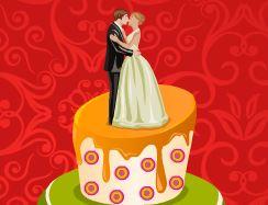 Bolo para casamento fazer decoração