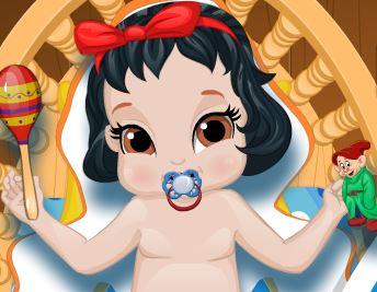 Branca de Neve bebê
