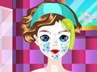 Branca de Neve tratamento facial