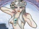 Maquiar sereia e vestir