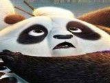 Kung Fu Panda achar números