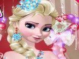 Elsa maquiagem e roupas