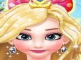 Frozen Elsa cabeleireiro